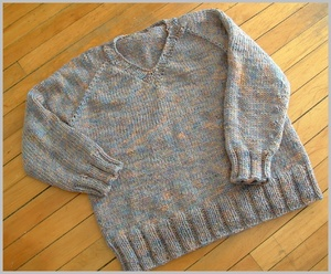 Ravelry: #22 Baby Raglan Pullover pattern by Family Circle
